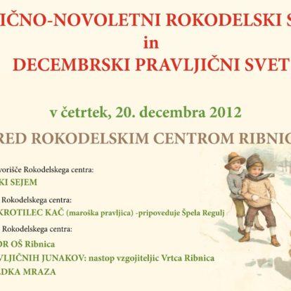 Božično-novoletni rokodelski sejem in decembrski pravljični svet